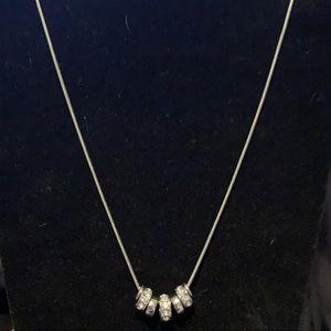Nicole Miller Necklace Silver
